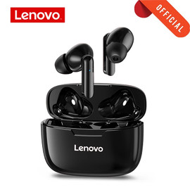 Lenovo XT90 Wireless Earphone Bluetooth 5.0 Sports Headphone Touch Button IPX5 Waterproof Headset with 300mAh Charging Box|Phone Earphones & Headphones|