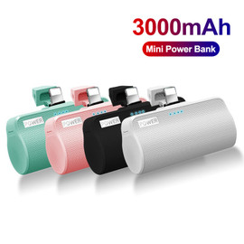 3000mAh Mini Power Bank For iPhone12 Xiaomi External Battery Powerbank Powerful Charger Portable Poverbank For Samsung|Power Bank|