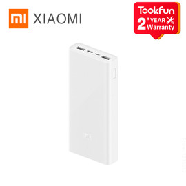 Xiaomi Power Bank 3 20000mAh USB C 18W Two Way Fast Charging Potable External Battery For Huawei Apple Battery Charger|Power Bank|