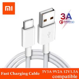 Original Xiaomi USB 3.0 3A Type C Quick Fast Data Charging Cable for XIAOMI MI 9 6 4C 4S A1 5 5S Plus 5C 5X Mix MAX 2 Redmi Pro|Mobile Phone Cables|