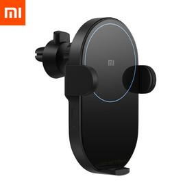Xiaomi Mi 20W/10W Max Qi Wireless Car Charger WCJ02ZM Auto Pinch with Intelligent Infrared Sensor Fast Charging Car Phone Holder|Wireless Chargers|