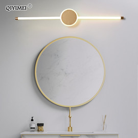 Modern LED wall lamp aluminum lights For Bedroom Living Room indoor Lighting Fixture Mirror lights vanity home lamp fixtures|LED Indoor Wall Lamps|