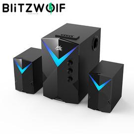 BlitzWolf BW GT2 Computer Game Speakers Wireless 20W USB bluetooth Speakers Gaming Soundbar PC Powerful Bass Speaker for PC|Computer Speakers|