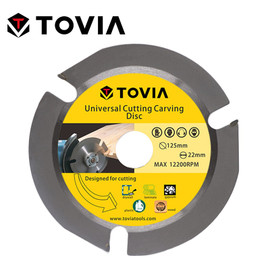 TOVIA 125mm Circular Carbide Saw Blades Cutting Wood For Angle Grinder Saw Disc Wood Cutter Saw Blade For Cutting Wood Multitool|Saw Blades|