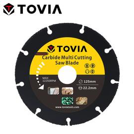 TOVIA 125mm Carbide Saw Blades Wood Cutting Disk Cutting Wood Saw Disc Multitool Wood Cutter Angle grinder For Wood|Saw Blades|