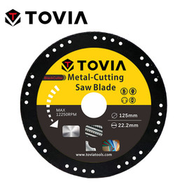 TOVIA 125mm Diamond Circular Saw Blade Cutting Steel Stainless Steel Aluminum Cutting Disc For Metal Saw Blade 115mm Saw Disc|Saw Blades|