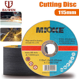 5 50Pcs Metal Cutting Discs 115mm Stainless Steel Cut Off Wheels Flap Sanding Grinding Discs For Angle Grinder Wheels|Grinding Wheels|