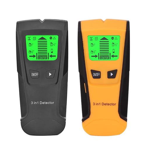 3 in 1 Metal Detector Finder Wood Studs Detector AC Voltage Live Wire Detect Wall Scanner Wall Detector Industrial Metal Detectors
