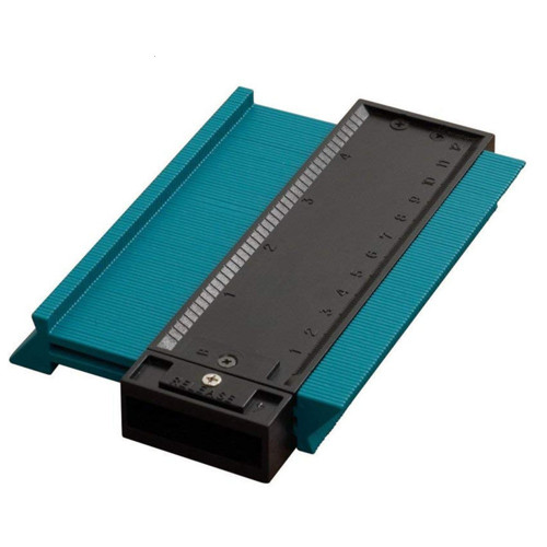 FGHGF Plastic Gauge Contour Profile Copy Gauge Duplicator Standard 5 Width Wood Marking Tool Tiling Laminate Tiles General Tools Gauges