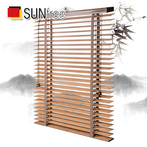 50mm Slat Eco friendly Bamboo Blinds corrosion resistant durable bamboo roller blinds for Window|Blinds, Shades & Shutters|