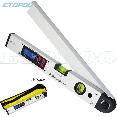 Digital Electronic Protractor angle finder Level Measuring Gauge meter inclinometer ruler 0 225 degree 400MM metal material|Protractors|
