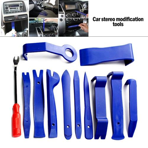 Car Hand Tool Car Disassembly Tools Set DVD Stereo Refit Kits Interior Plastic Trim Panel Dashboard Removal Tool Repair Tools| |