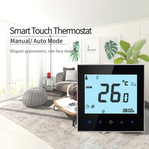WiFi Smart Thermostat Electric floor Heating Water/Gas Boiler Temperature Remote Controller for Google Home Alexa THP1000|Smart Temperature Control System|