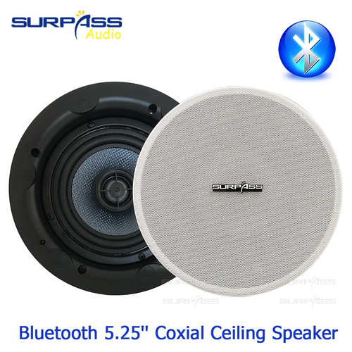 Waterproof Speaker 5.25inch Active Coxial Ceiling Speaker Smart On Wall Installation Wired Ceiling Speaker Bluetooth Headphone|In-ceiling Speakers|
