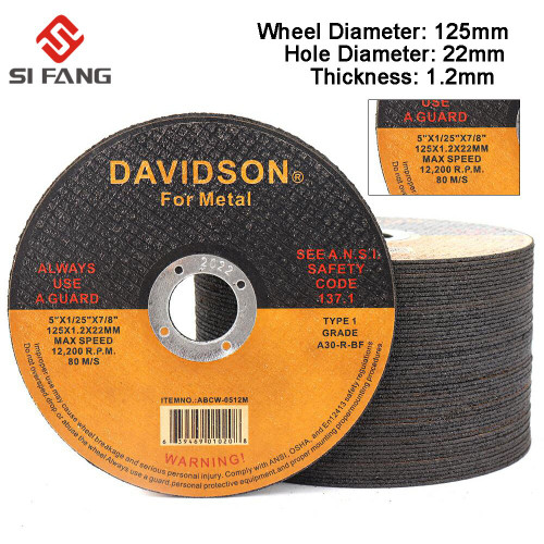 3 50Pcs Metal Stainless Cutting Discs 125mm Cut Off Wheels Angle Grinder Wheel For Metal Iron Grinding Blade Cutter|Grinding Wheels|