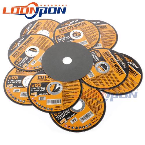125mm Cutting Disc Metal Cut Off Wheel Angle Grinder Disc Slice Fiber Reinforced Grinding Blade Cutter for Metal Iron 5 50Pcs|Grinding Wheels|