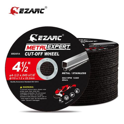 EZARC Cut Off Wheels 25 pcs, 75mm x 9.5mm Or 115mm x 22.2mm Cutting Wheel, Metal & Satinless Steel Cutting Disc for Die Grinder Grinding Wheels 