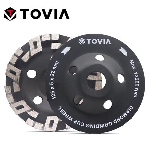 TOVIA 125mm Diamond Grinding Wheel Polishing Stone Grinding Wheels For Angle Grinder Stone Granite Marble Polish Disc|Grinding Wheels|