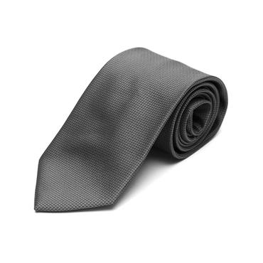 Charcoal Silk Tie