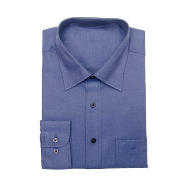 Navy Single Cuff Shirt