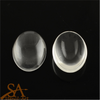 Glass Cabochons Domed – Clear Oval 35x25mm 5/pkg