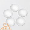 Glass Cabochons Domed – Round Clear 30x7mm 5/pkg
