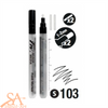 Daler-Rowney FW Empty Paint Markers - Round Nib 1-2mm 2 Pcs