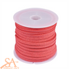 Faux Suede Cord 3x1.5mm 5m/Roll Light Coral
