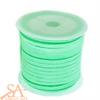 Faux Suede Cord 3x1.5mm 5m/Roll Aquamarine