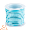 Faux Suede Cord 3x1.5mm 5m/Roll Turquoise