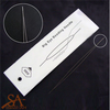 Stainless Steel Beading Needle Big Eye 100x0,3mm