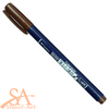 Tombow Fudenosuke Brush Pen, Hard Tip BROWN  #WS-BH31