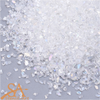 Crushed Fine Glass Chips Transparent AB  50g