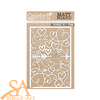 Celebr8 Chipboard/Mat Board LOVE STORY Elements #MB4662