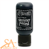 Dyan Reaveley's Dylusions Shimmer Paint 29ml BLACK MARBLE #DYU74366