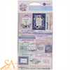Prima Marketing Ephemera Stickers WATERCOLOR FLORAL #651541