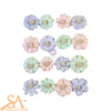 "Prima Marketing Flowers WATERCOLOR FLORAL ""Pretty Tints"" #653095"