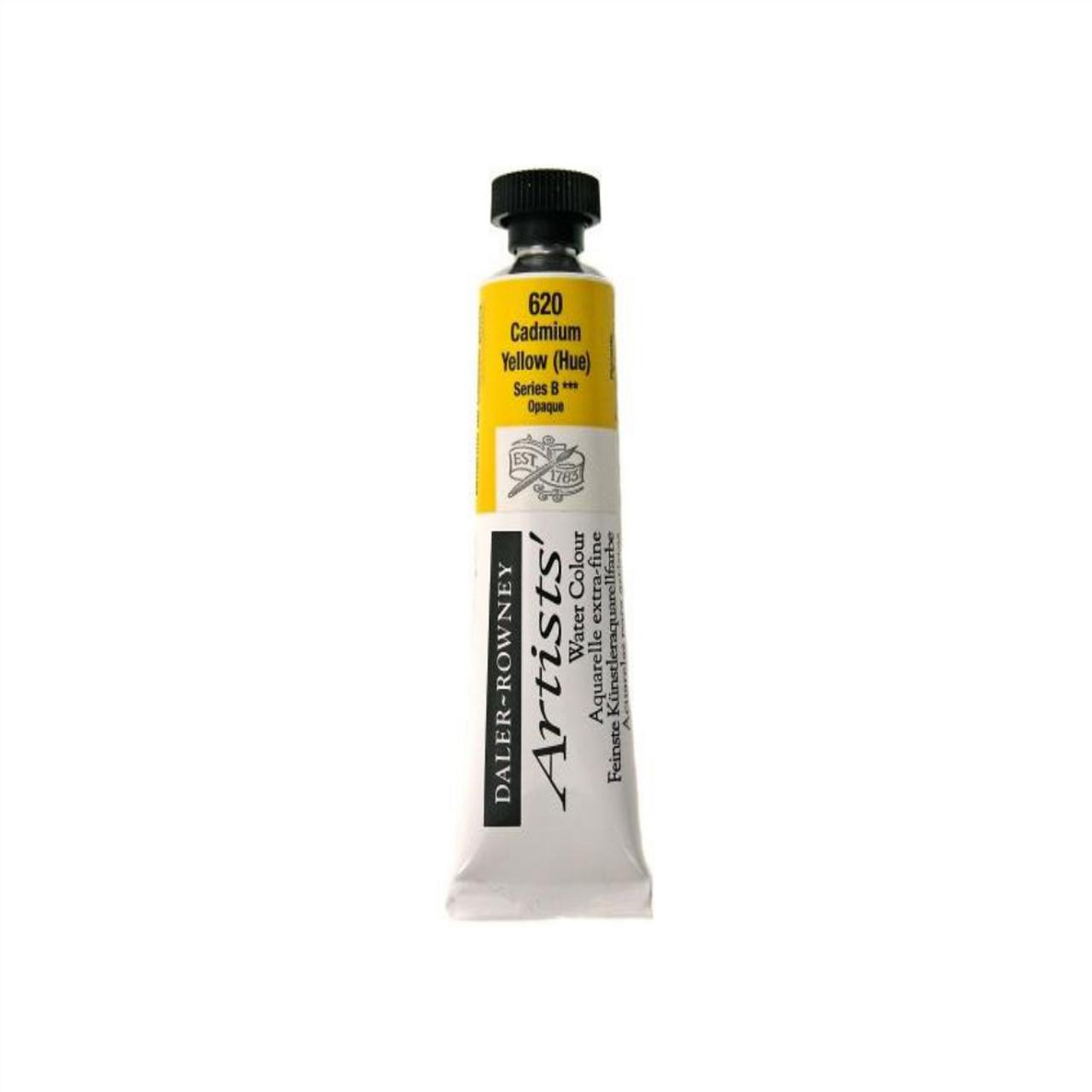 Daler-Rowney Artists' Watercolour Tube 15ml - Cadmium Yellow Hue #620