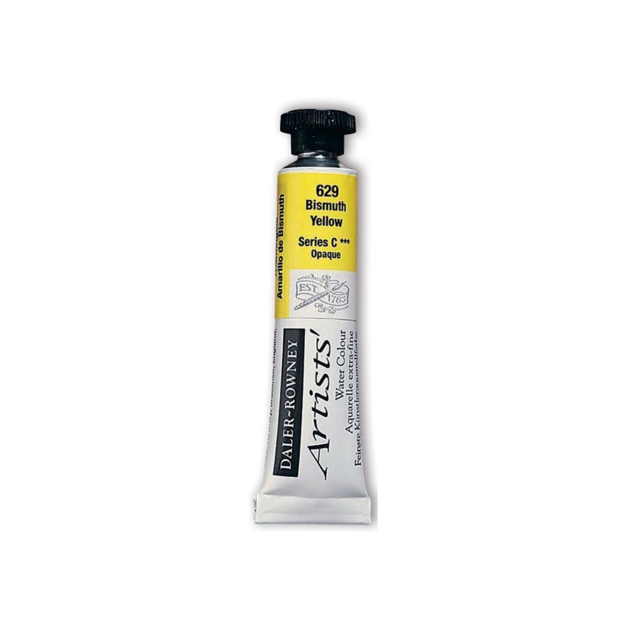 Daler-Rowney Artists' Watercolour Tube 15ml - Bismuth Yellow #629
