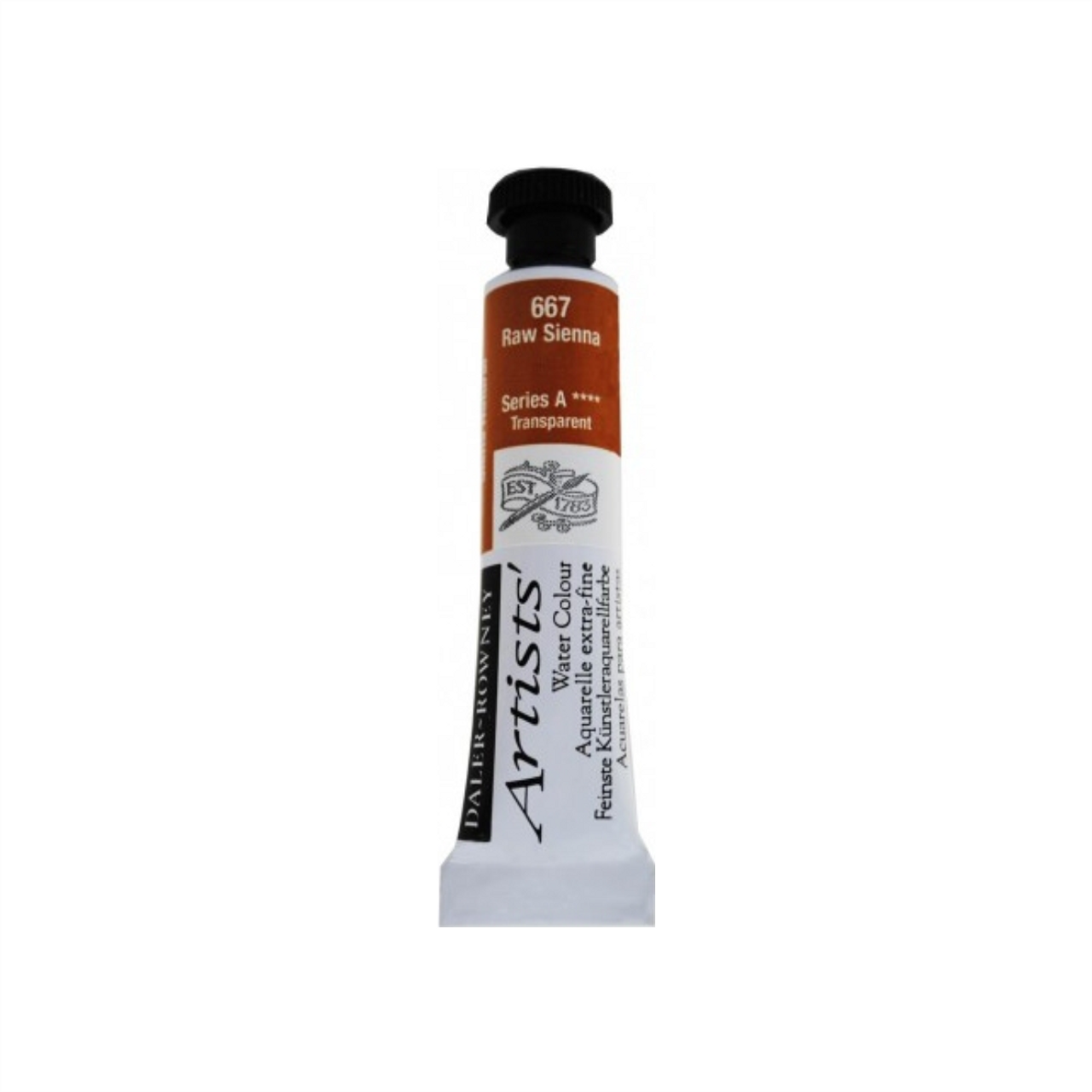 Daler-Rowney Artists' Watercolour Tube 15ml - Raw Sienna #667