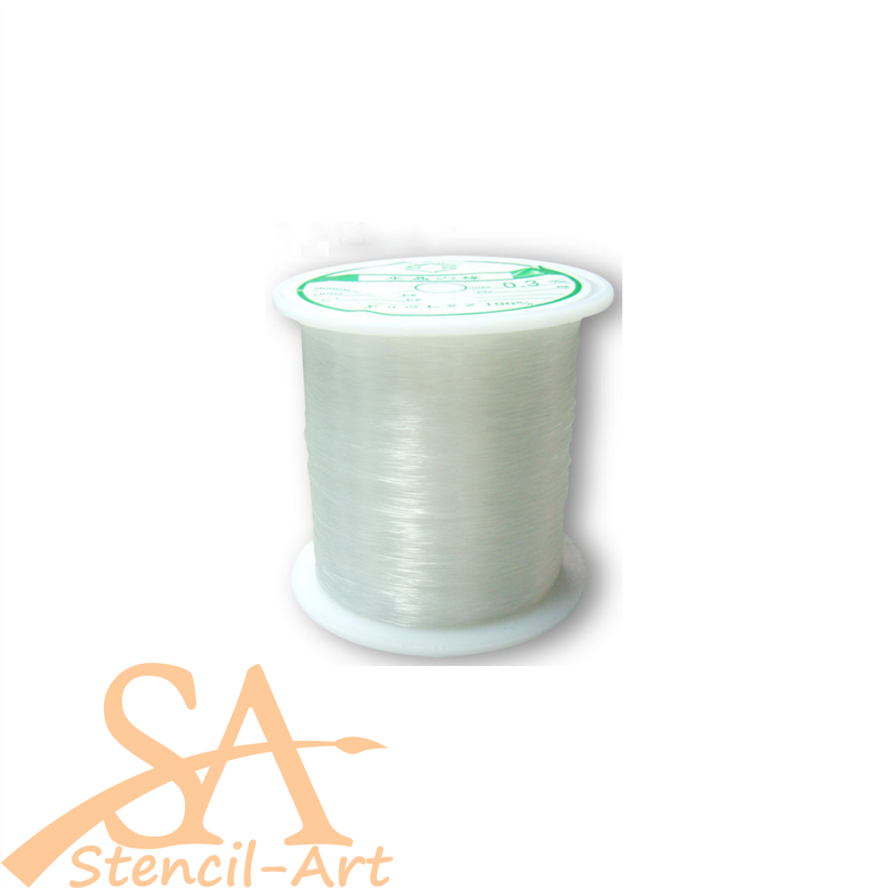 Nylon Beading Thread Clear 0.2mm 180m