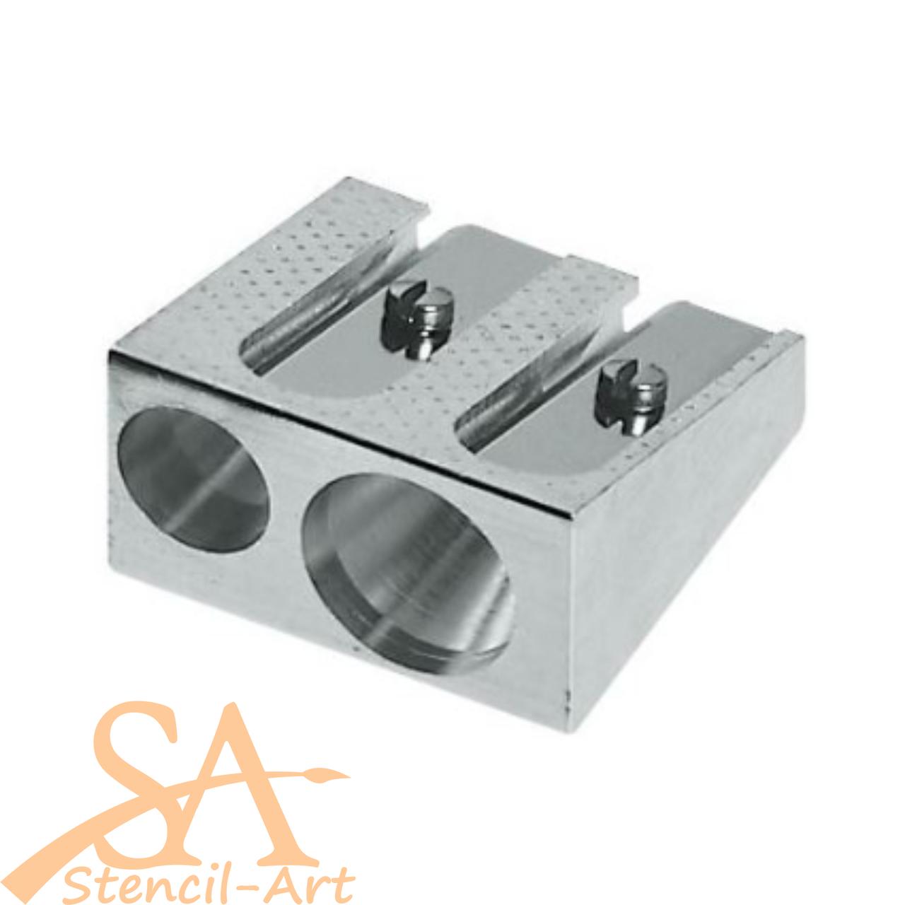 Faber-Castell Metal Pencil Sharpener Dual Hole