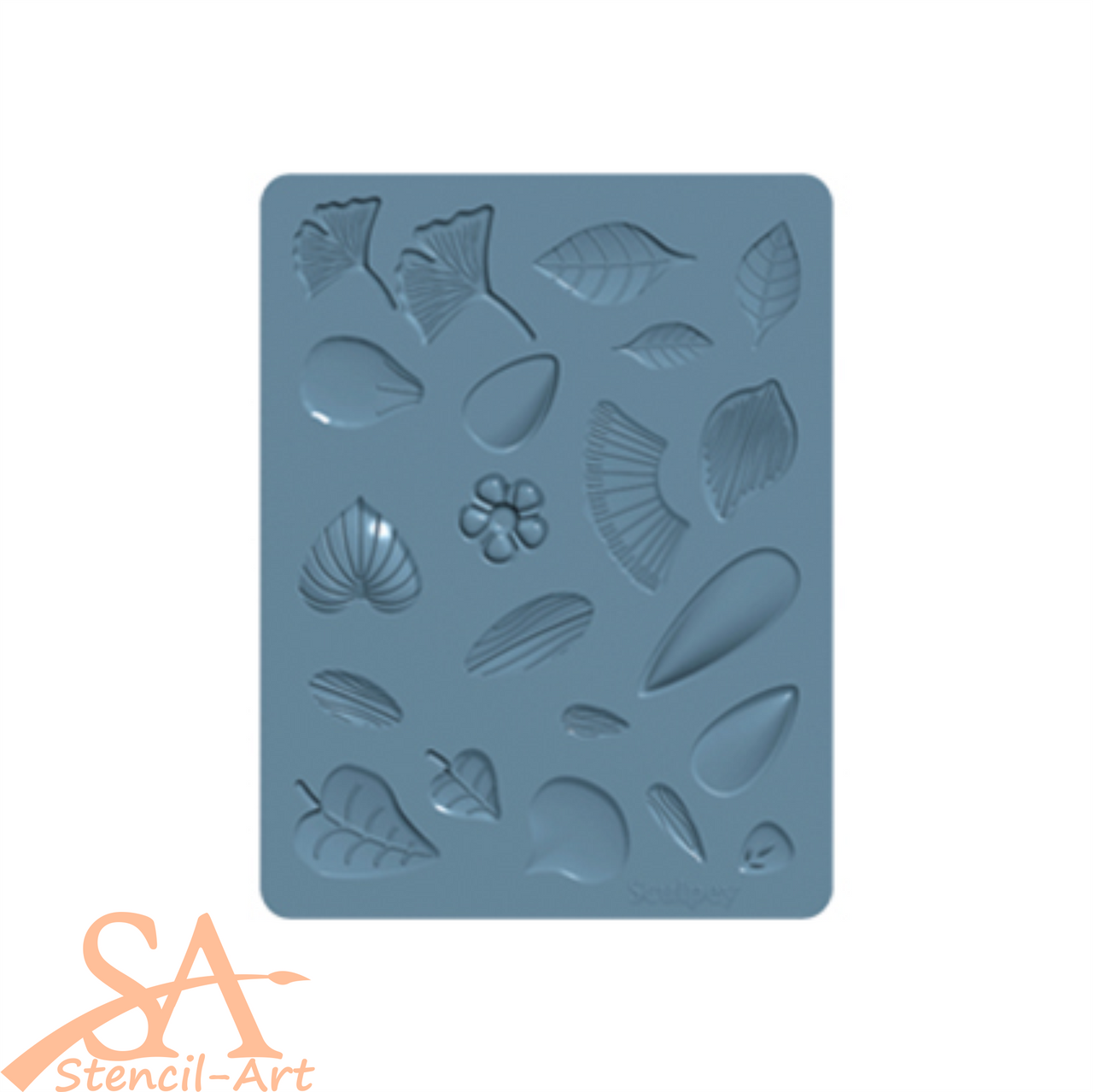 Sculpey Silicone Bakeable Mold - Flowers #APM62