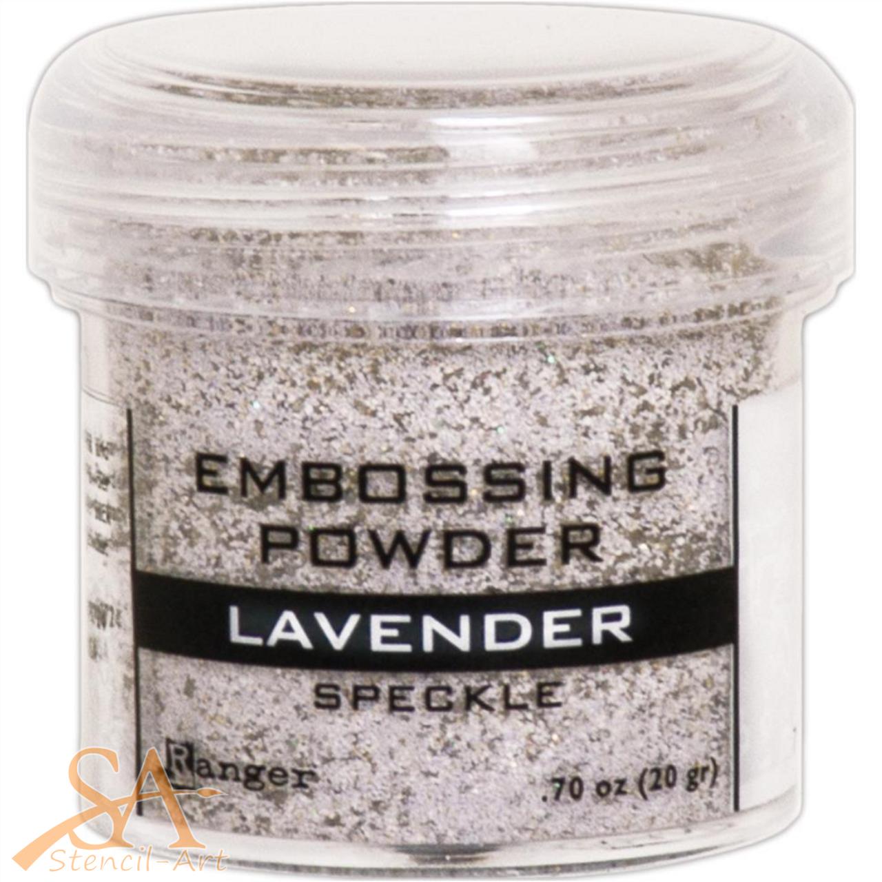 Ranger Embossing Powder Speckle 34ml Jar – Lavender