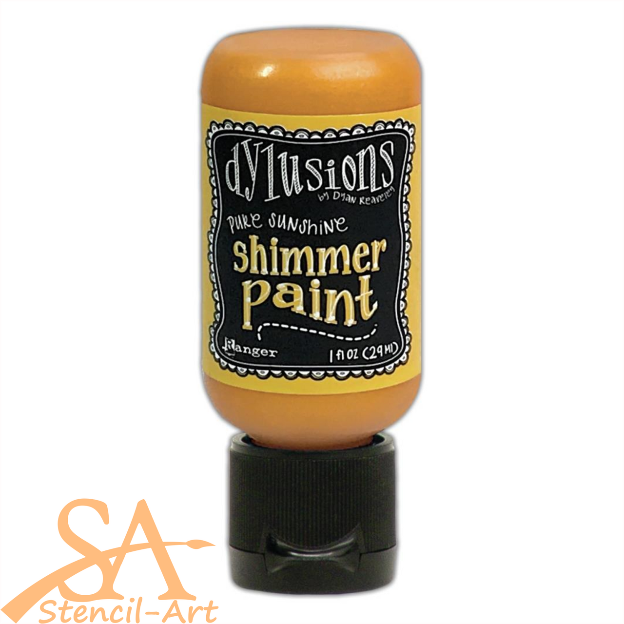 Dyan Reaveley's Dylusions Shimmer Paint 29ml PURE SUNSHINE #DYU74465