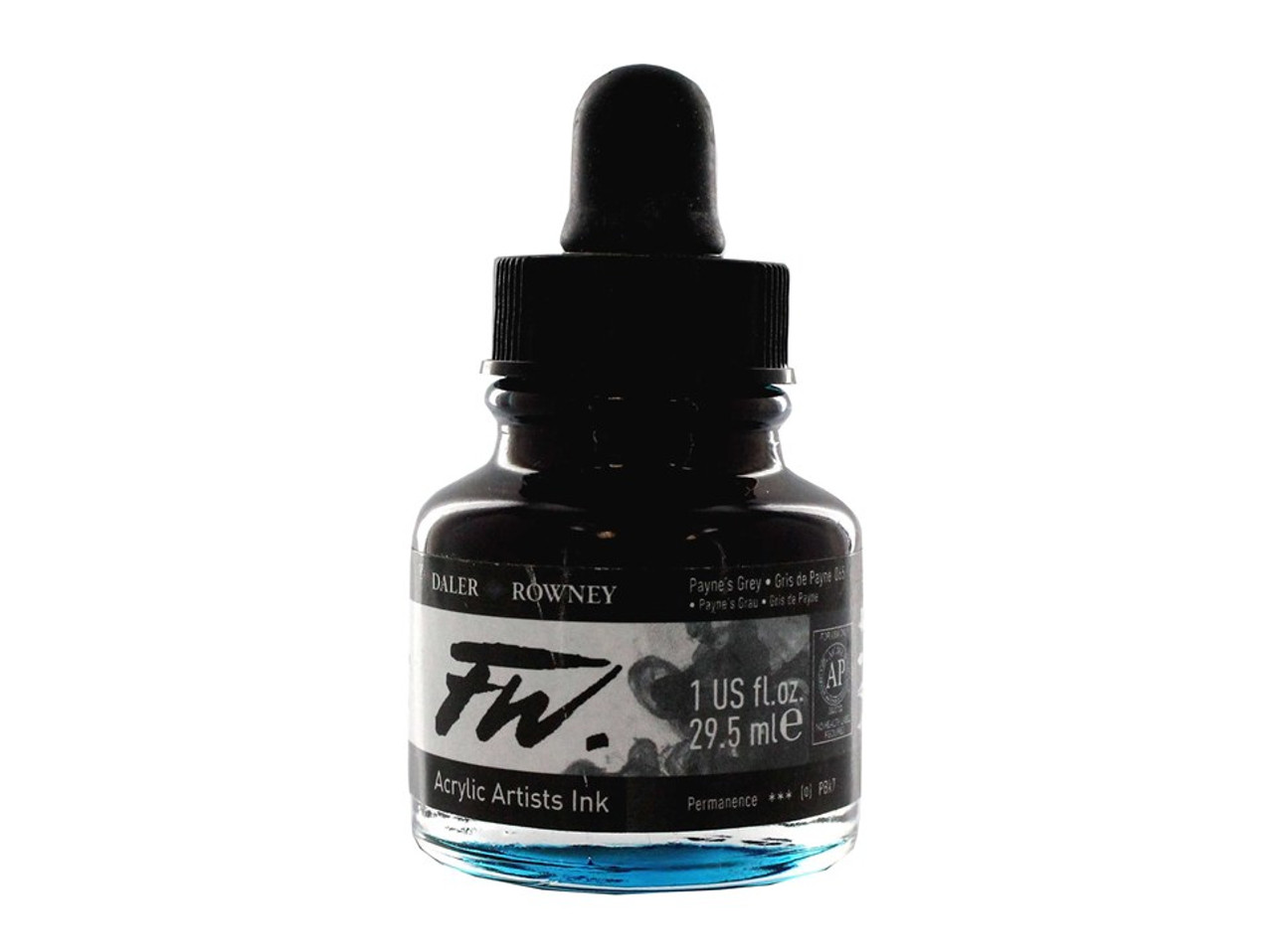 FW Acrylic Artists' Ink 29.5ml - Paynes Grey