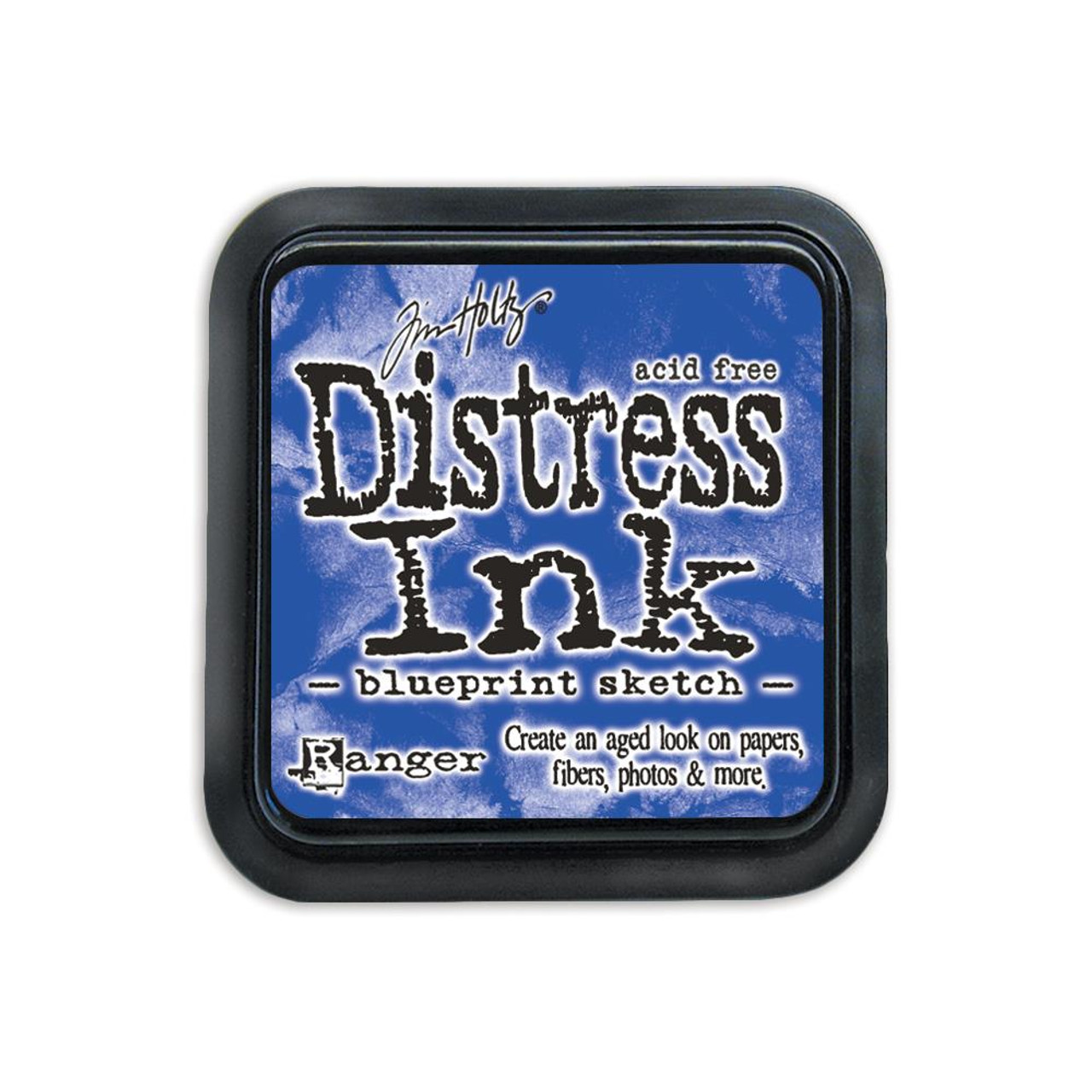 Tim Holtz Distress Ink Stamp Pad – Blueprint Sketch