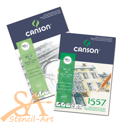Canson 1557® Pad 180 gsm 30 Sheets A4 #204127414