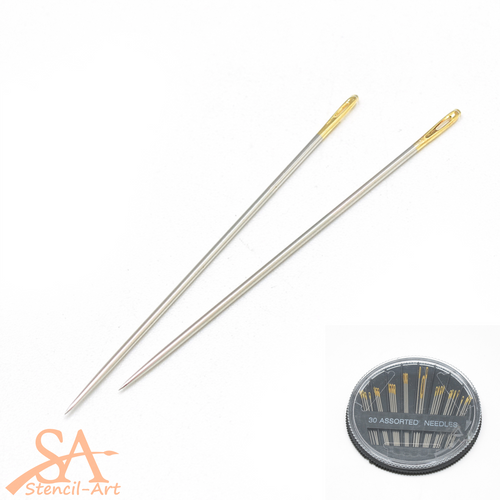 Stainless Steel Sewing Needles 30pcs