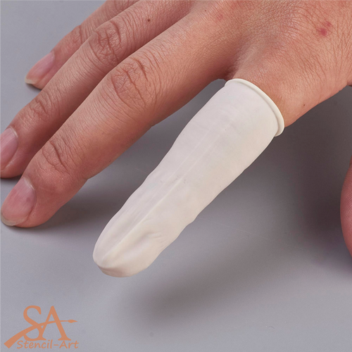 Disposable Latex Finger Cots 10 pcs